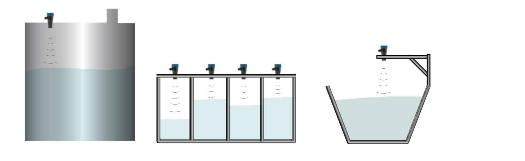Lắp đặt cảm biến đo mức nước