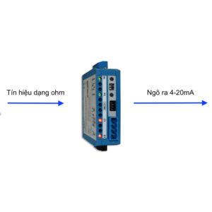 Ứng dụng bộ chuyển đổi biến trở sang 4-20mA