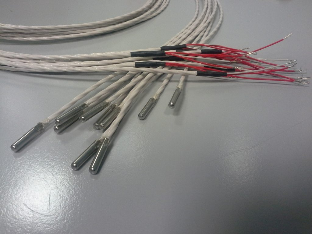 Đầu dò nhiệt thường dùng đo nhiệt độ phòng