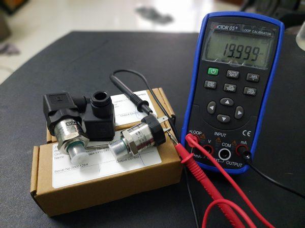 Kiểm tra tín hiệu cảm biến bằng đồng hồ V05+