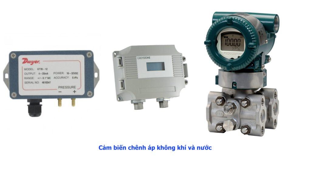 Cảm biến áp suất đo chênh áp thông dụng