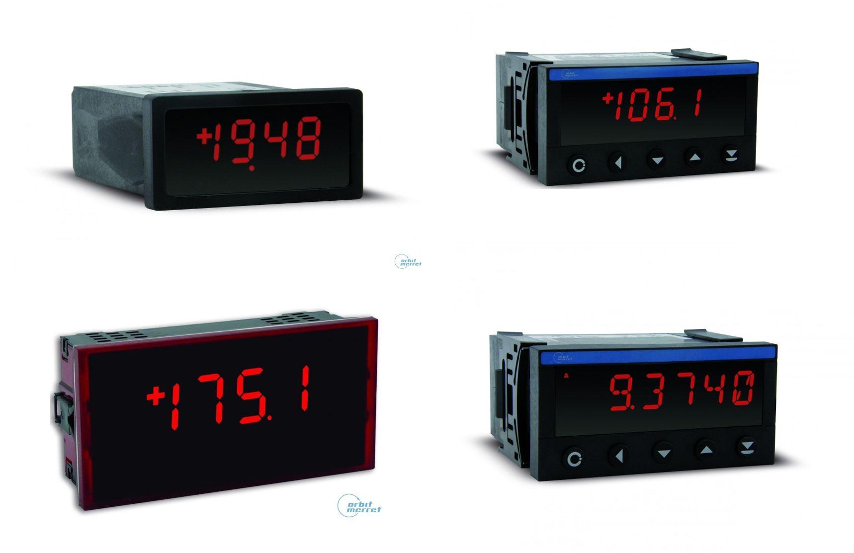 Bộ hiển thị và điều khiển áp suất hãng Orbit Merret